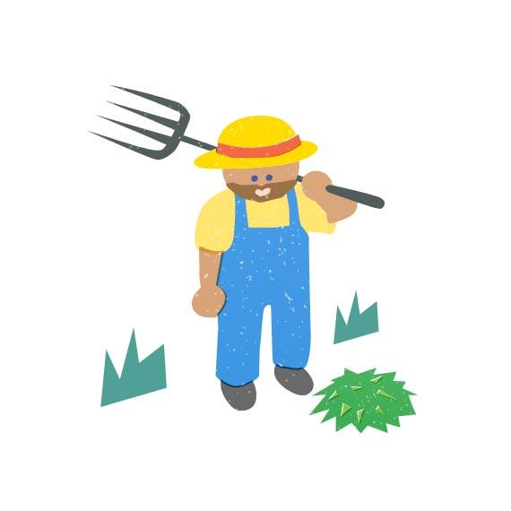 作る:誠心誠意真心こめて作る新鮮野菜